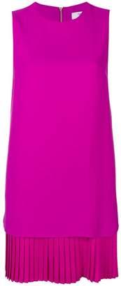 Blugirl pleated hem shift dress