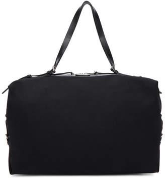 Saint Laurent Black Large Canvas ID Duffle Bag