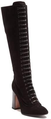Aquatalia Elenora Strap To-The-Knee Boot
