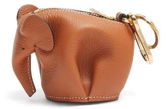Loewe Elephant Coin Purse - Womens - Tan