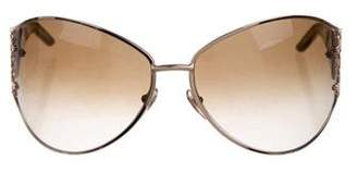 Saint Laurent Oversized Gradient Sunglasses