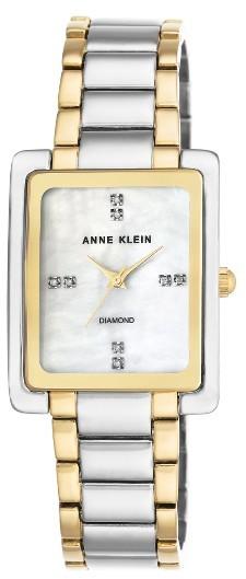 Anne KleinWomen's Anne Klein Diamond Bracelet Watch, 28Mm X 35Mm