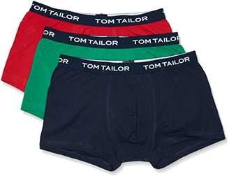 Tom Tailor Men's Plain Trunks Blue