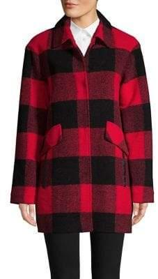 Pendleton Mercer Island Checkered Fleece Barn Coat