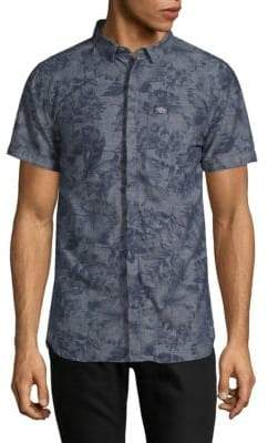 Superdry Floral Short-Sleeve Shirt