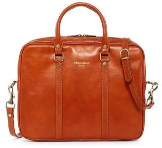 Persaman New York Matthew Italian Leather Briefcase