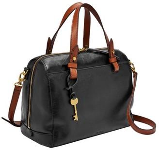 Fossil Rachel Satchel Handbags Black