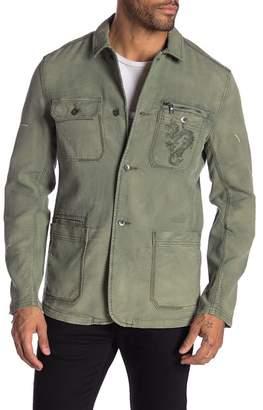 John Varvatos Dragon Embroidery Jacket