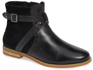 Hush Puppies Chardon Belt Water Resistant Bootie