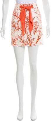 Michael Kors Printed Mini Skirt