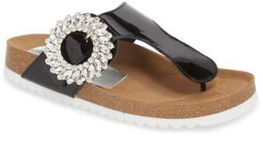 Jeffrey Campbell Madeira Embellished T-Strap Sandal