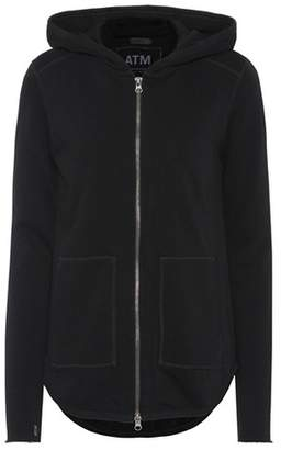 ATM Anthony Thomas Melillo Cotton zip hoodie