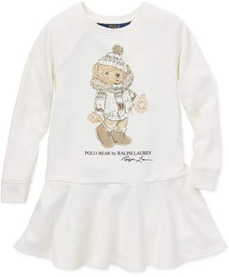Polo Ralph Lauren Toddler Girls Holiday Bear Dress