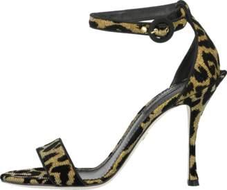 Dolce & Gabbana Keira Leopard Print Sandal