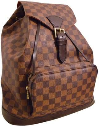 Louis Vuitton Montsouris Cloth Backpack
