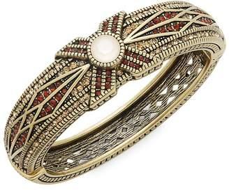 Heidi Daus Women's Tapered X Swarovski Crystal Bangle Bracelet