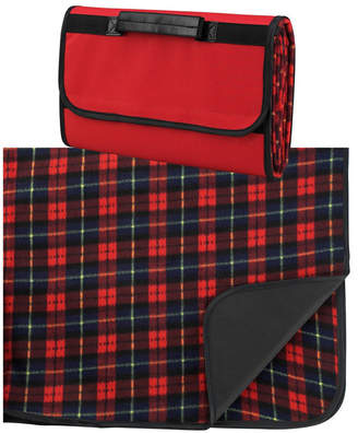 "Picnic at Ascot Outdoor Picnic Blanket with Waterproof Backing 58"" x 53"""