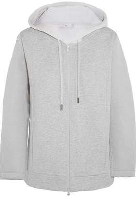 adidas by Stella McCartney Essentials French Cotton-Terry Hooded Sweatshirt