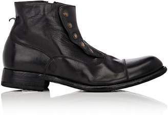 Harris Men's Cap-Toe Spat Boots