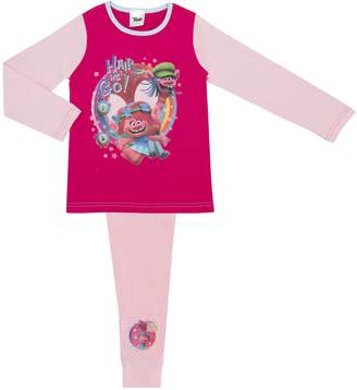 AG Jeans Cartoon Character Products Official Dreamworks Girls Trolls Pyjamas Big Dreams 7-8 years / 122-128 c