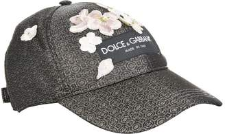Dolce & Gabbana Embroidered Metallic Cap