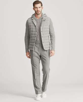 Ralph Lauren Quilted Wool-Blend Down Vest