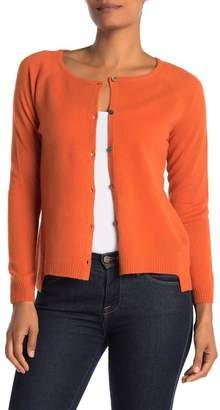 Lynk Knyt & Cashmere Button Front High/Low Cardigan