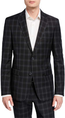 Versace Men's Two-Piece Check Suit
