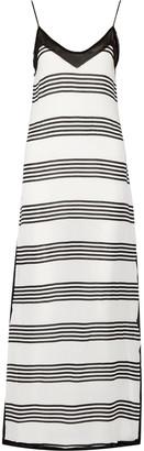Vix Nina striped voile maxi dress $196 thestylecure.com