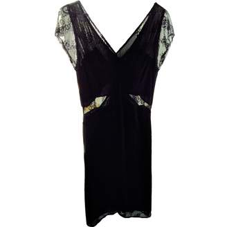 Petite Mendigote Black Dress for Women