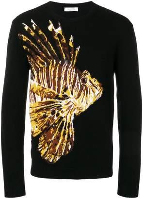 Valentino intarsia knit jumper