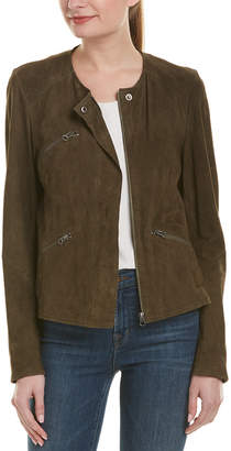 Jakett Chloe Washed Suede Jacket