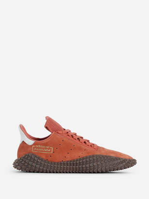 adidas ORANGE SUEDE KAMANDA SNEAKERS