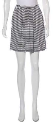 Max Studio Striped Mini Skirt