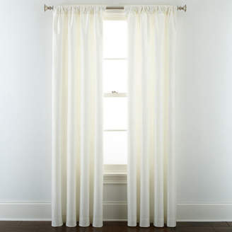 Royal Velvet Supreme Lined Rod-Pocket/Back-Tab Curtain Panel