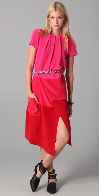 Preen Polly Midi Dress