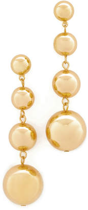 Shashi Ball Drop Earrings $50 thestylecure.com