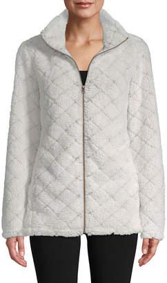 ST. JOHN'S BAY SJB ACTIVE Active Plush Zip Jacket