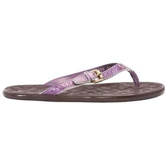 Louis Vuitton Leather flip flops