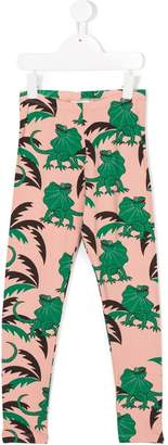 Mini Rodini lizard print leggings