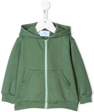 Eshvi Kids zip-up hoodie