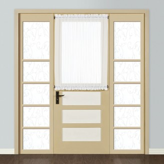 Co United Curtain 1-Panel Monte Carlo Door Window Panel - 59'' x 40''