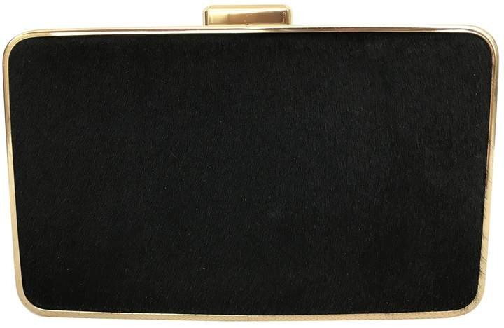 Michael Kors Pony-style calfskin clutch bag - BLACK - STYLE