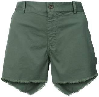 Nili Lotan frayed hem shorts