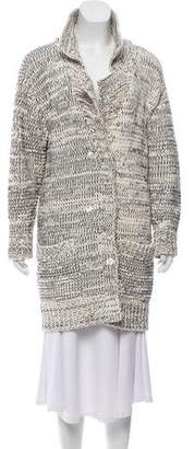 Bottega Veneta Embroidered Knit Cardigan