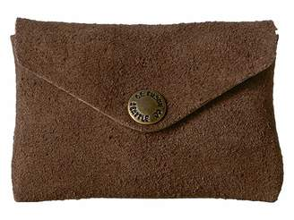 Filson Rugged Suede Snap Wallet