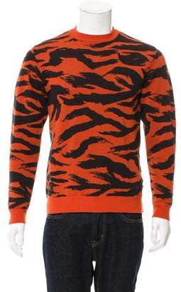 Wtaps Wool Tiger Pattern Sweater