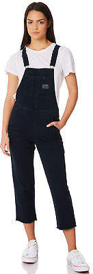 Element New Women's Dayz Again Overall Cotton Blue