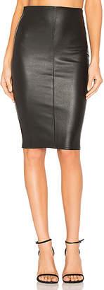 MLML High Waist Slit Skirt