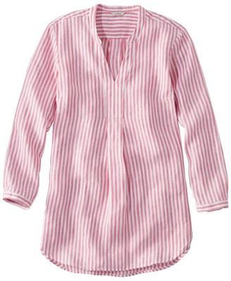 56554cf994d L.L. Bean L.L.Bean Women s Premium Washable Linen Shirt